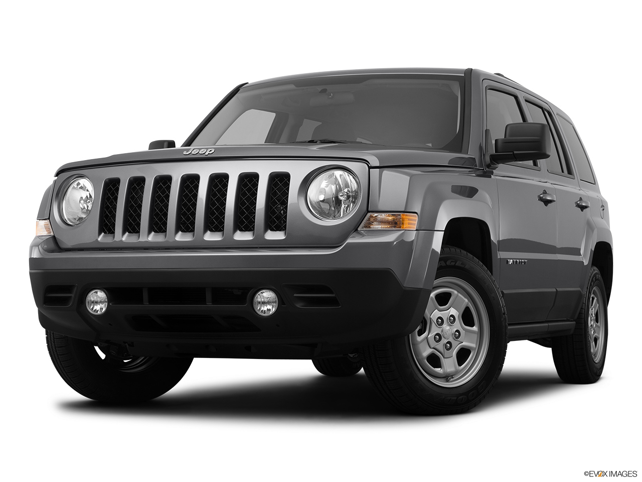 2012 Jeep Patriot Sport Front angle view, low wide perspective.