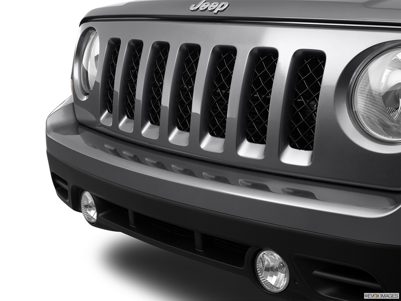 2012 Jeep Patriot Sport Close up of Grill.