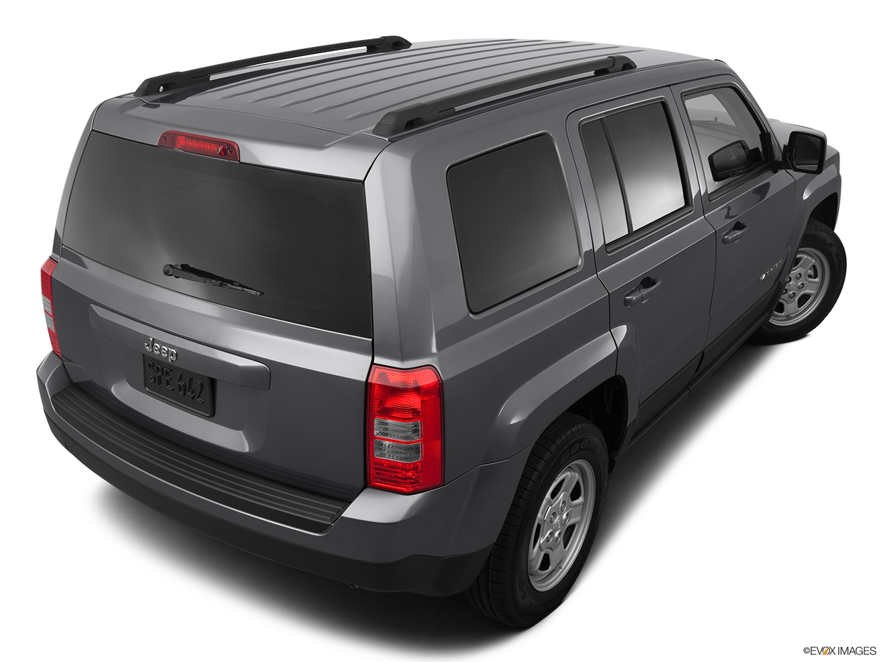 2012 Jeep Patriot Sport Rear 3/4 angle view.