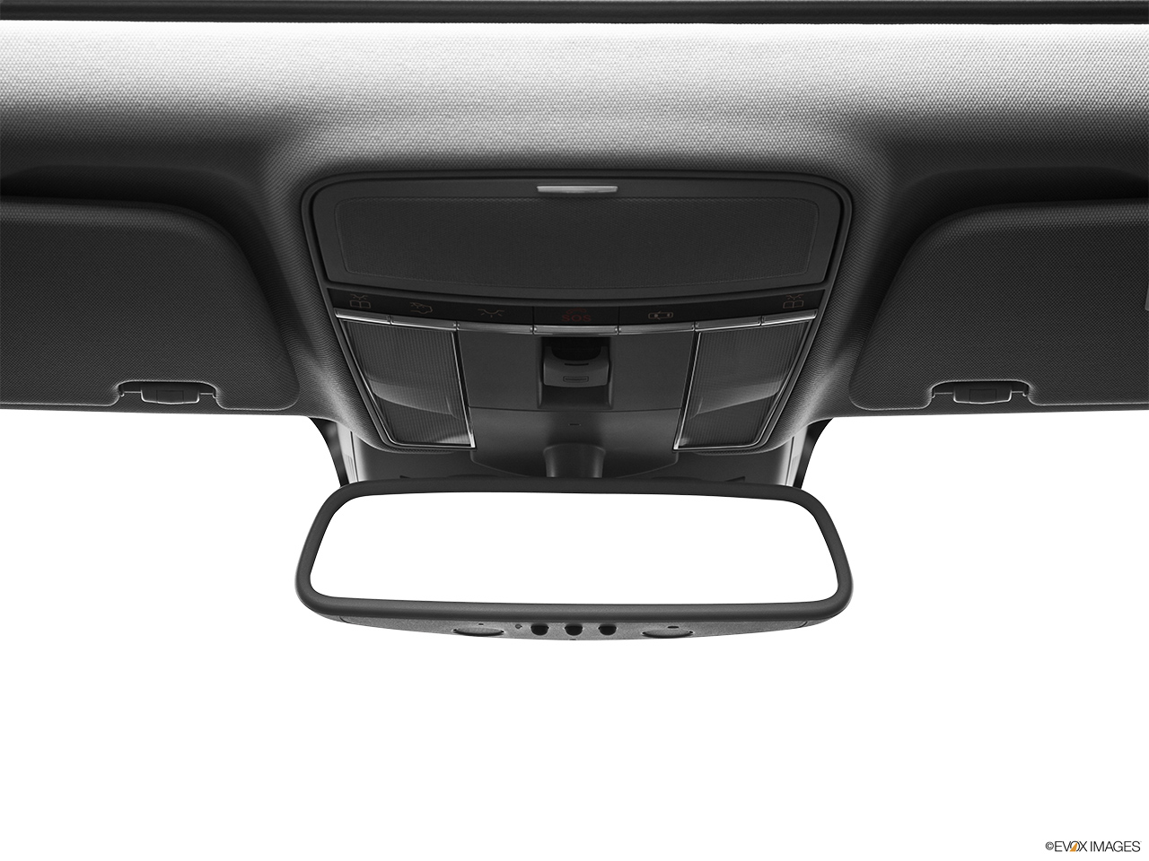 2012 Mercedes-Benz S-Class Hybrid S400 Courtesy lamps/ceiling controls.