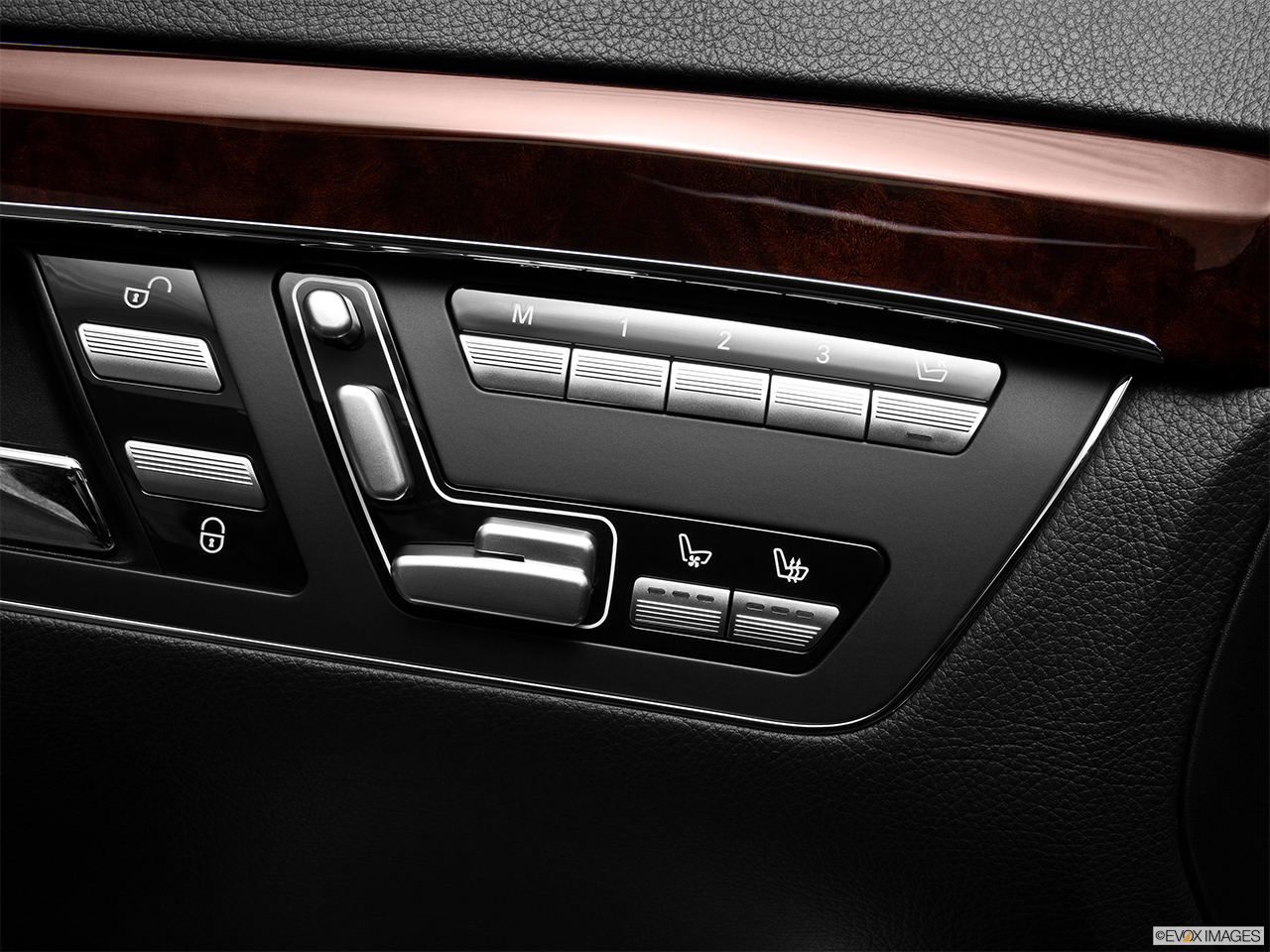 2012 Mercedes-Benz S-Class Hybrid S400 Seat Adjustment Controllers.