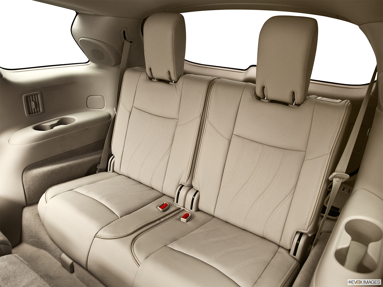 2013 Infiniti JX JX35 3rd row seat from Driver Side.