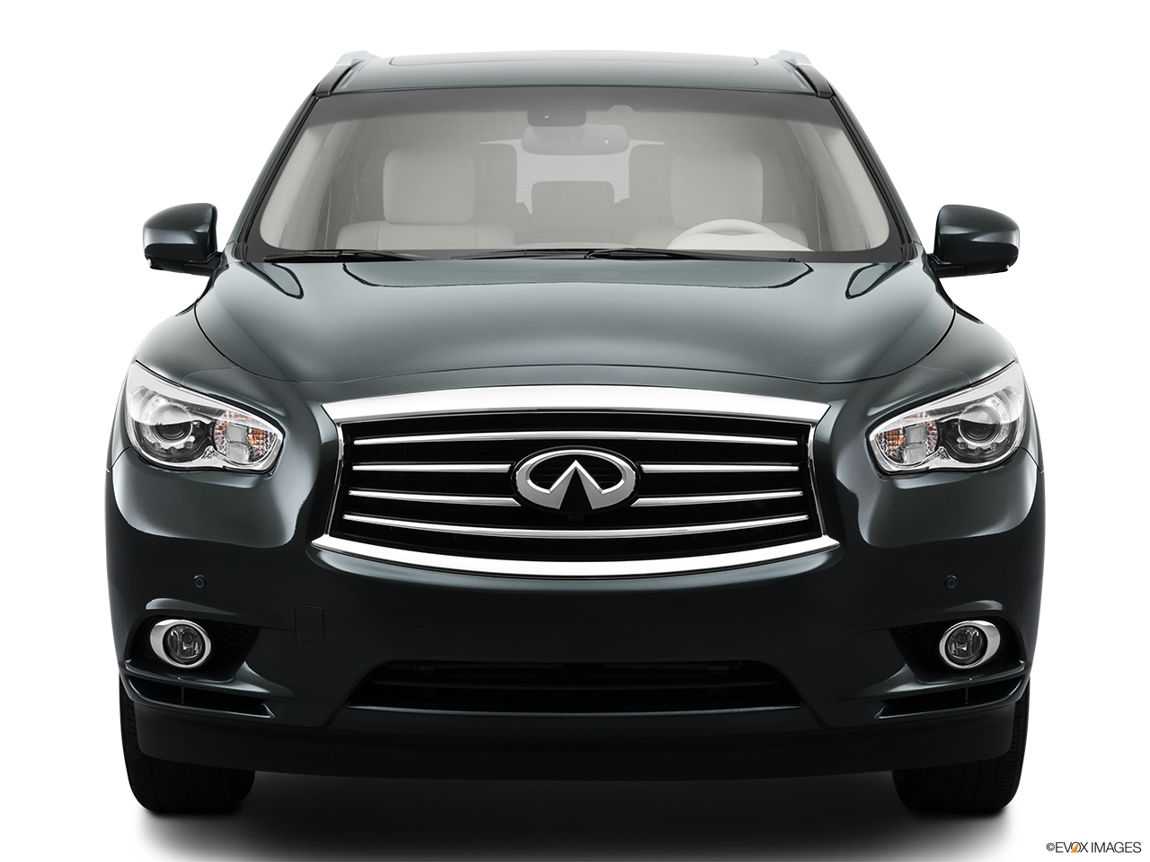 2013 Infiniti JX JX35 Low/wide front.
