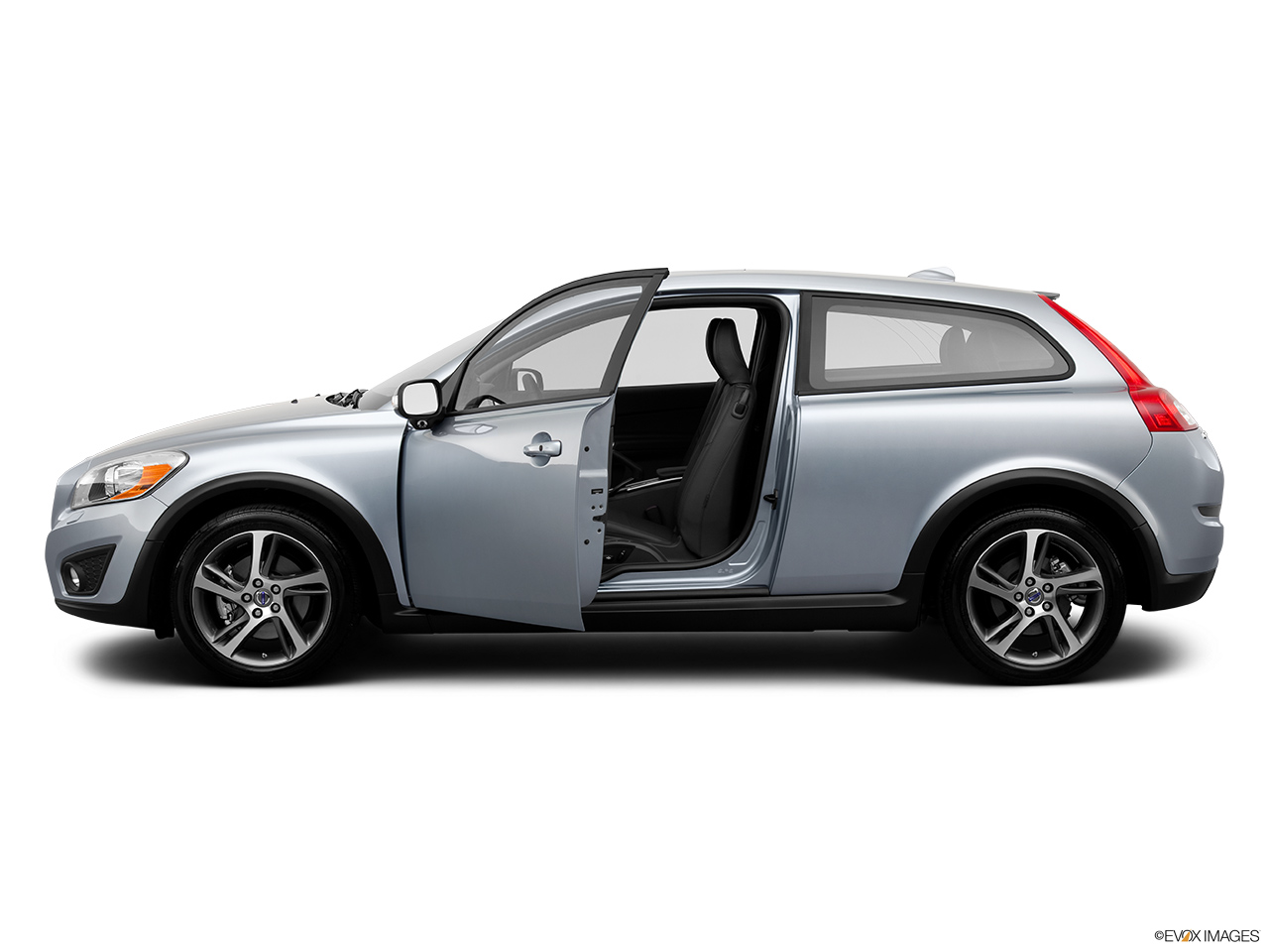 2013 Volvo C30 T5 Premier Plus Driver's side profile with drivers side door open.