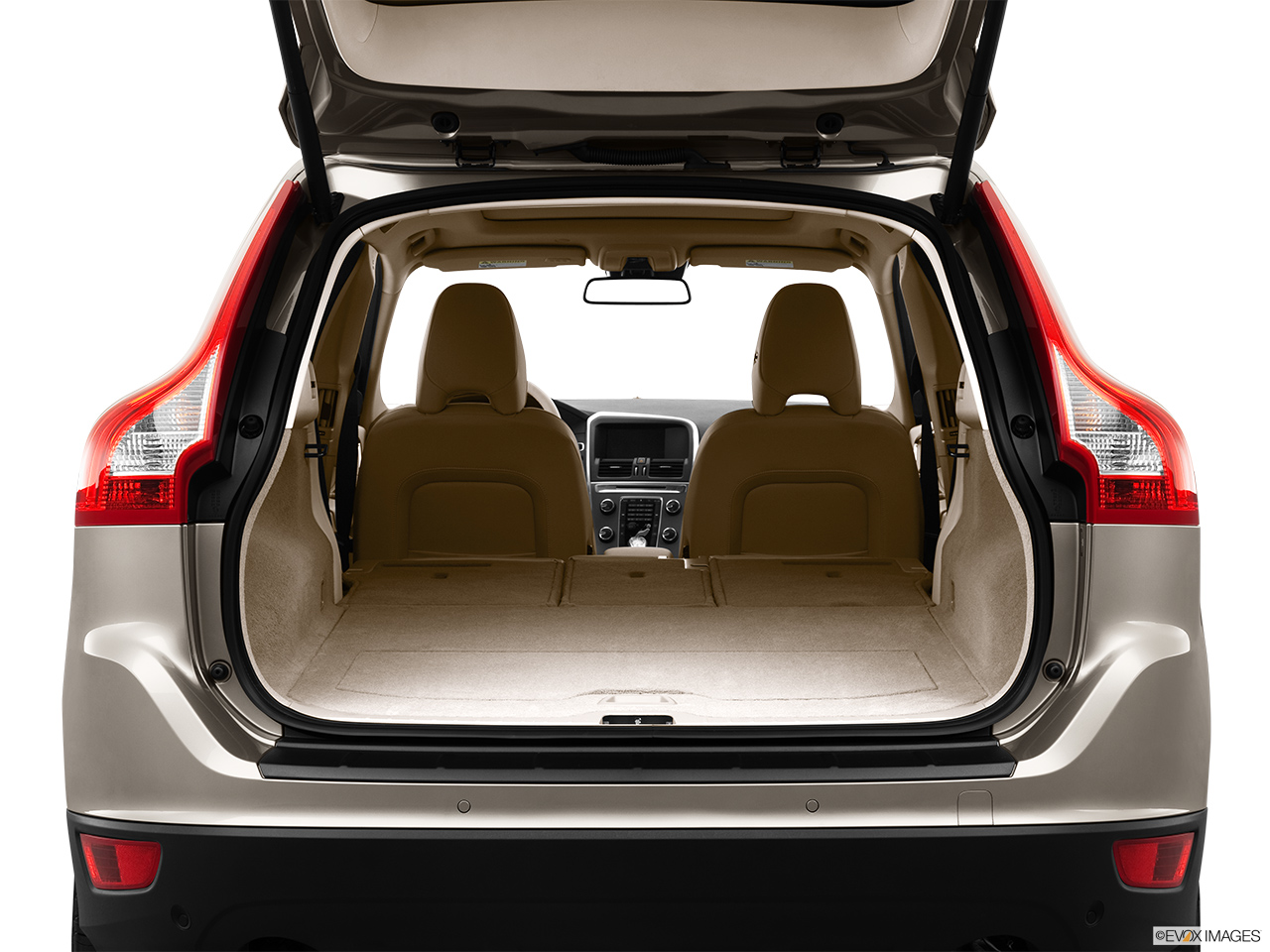 2013 Volvo XC60 3.2 FWD Premier Plus Hatchback & SUV rear angle.