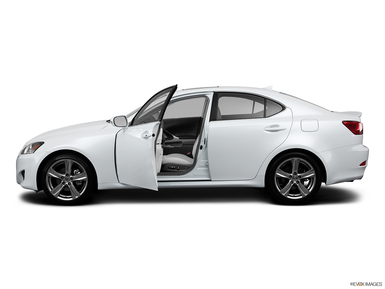 2013 Lexus IS 250 IS 250 RWD Driver's side profile with drivers side door open.