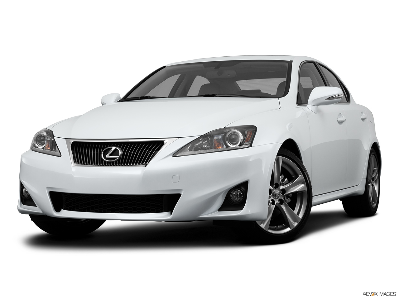2013 Lexus IS 250 IS 250 RWD Front angle view, low wide perspective.