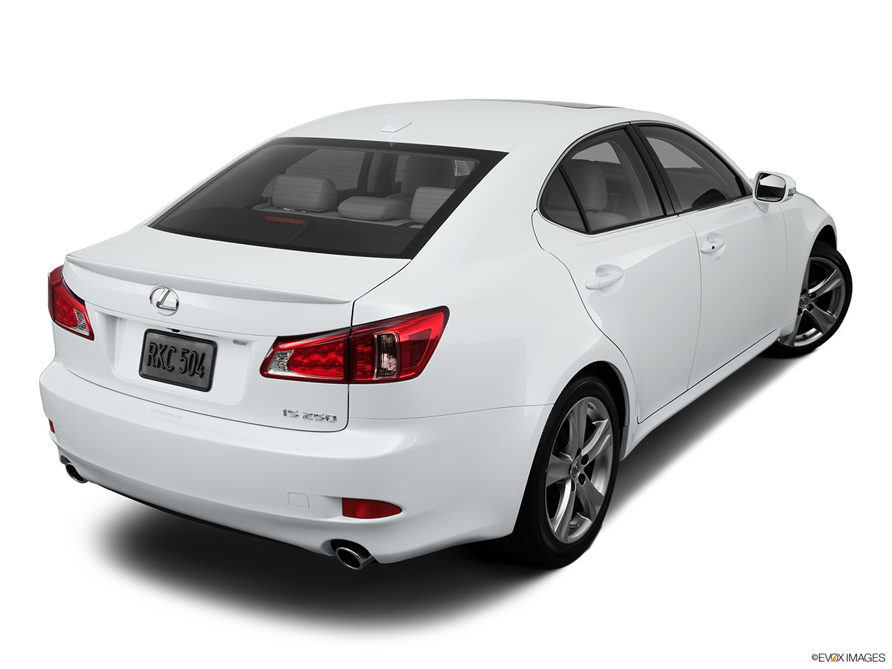 2013 Lexus IS 250 IS 250 RWD Rear 3/4 angle view.