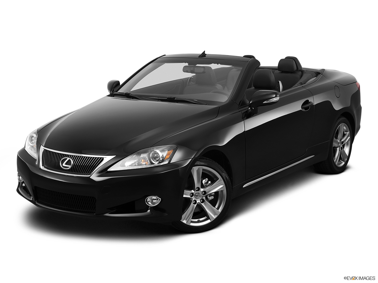 2013 Lexus IS 250C IS 250 C RWD Front angle view.
