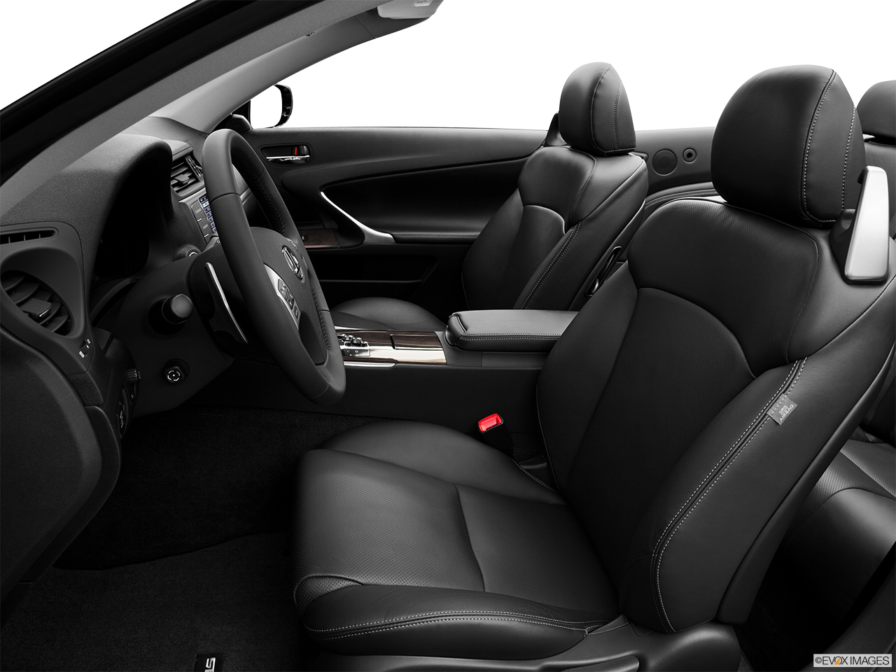 2013 Lexus IS 250C IS 250 C RWD Front seats from Drivers Side.