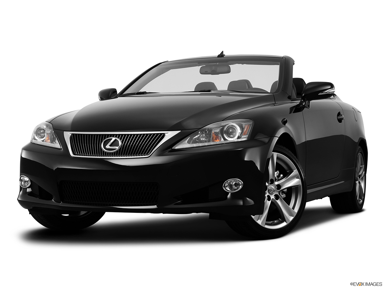 2013 Lexus IS 250C IS 250 C RWD Front angle view, low wide perspective.