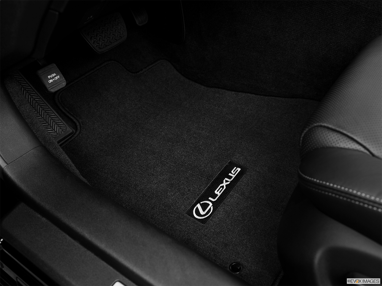 2013 Lexus IS 250C IS 250 C RWD Driver's floor mat and pedals. Mid-seat level from outside looking in.