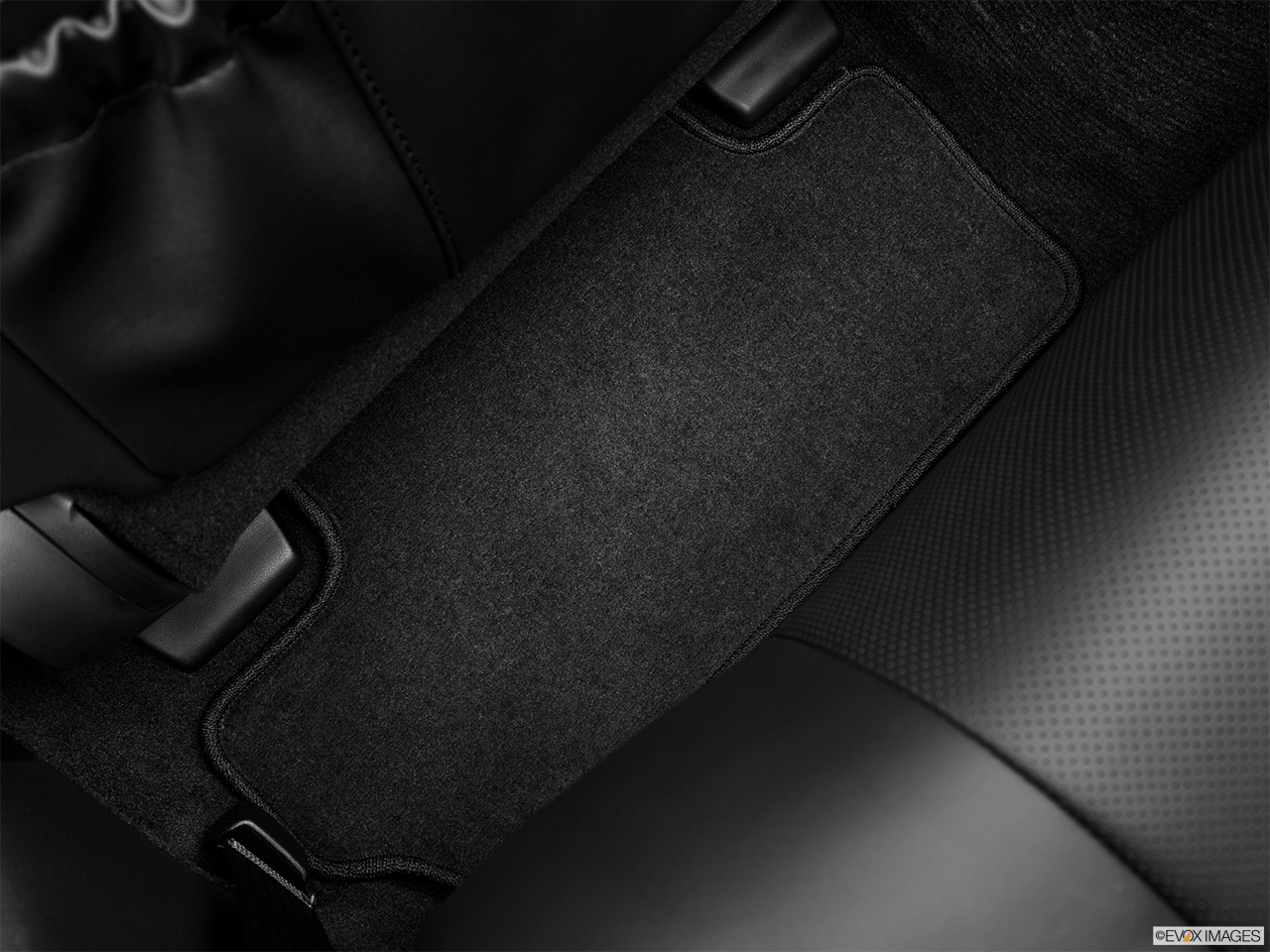 2013 Lexus IS 250C IS 250 C RWD Rear driver's side floor mat. Mid-seat level from outside looking in.