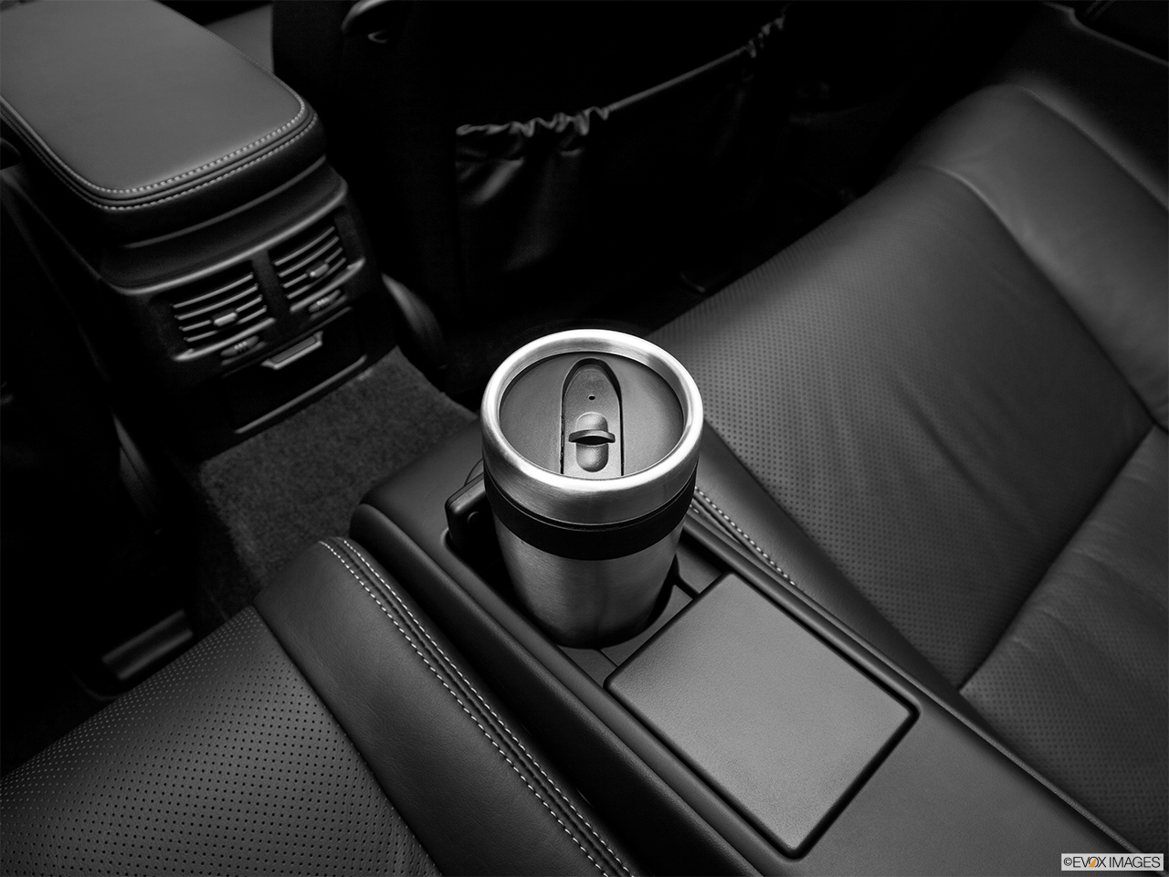 2013 Lexus IS 250C IS 250 C RWD Third Row center cup holder with coffee prop.