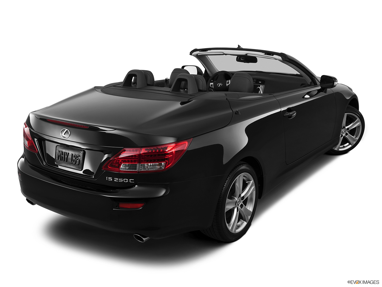 2013 Lexus IS 250C IS 250 C RWD Rear 3/4 angle view.