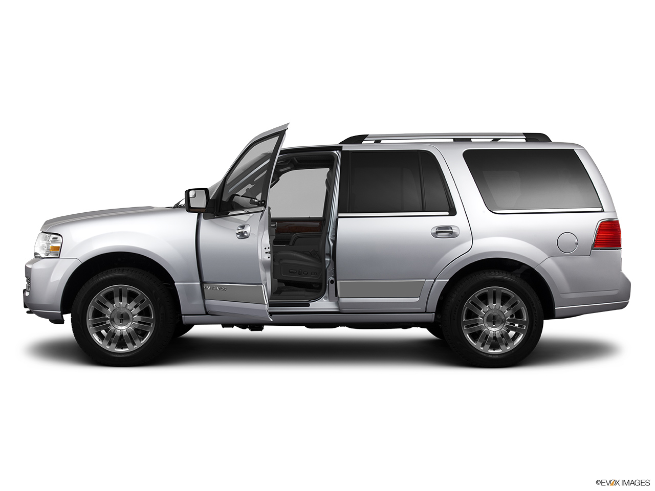 2013 Lincoln Navigator Base Driver's side profile with drivers side door open.