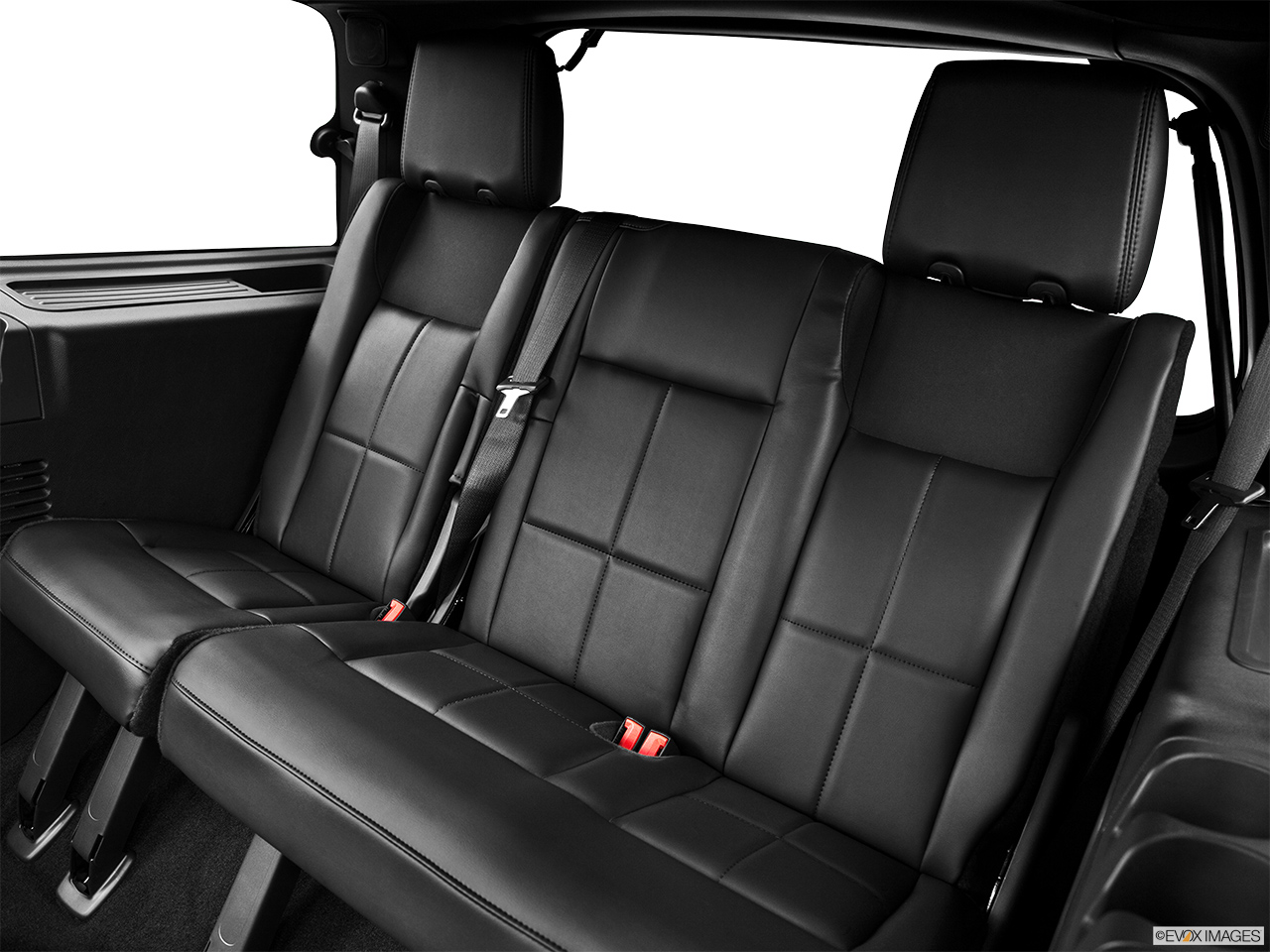 2013 Lincoln Navigator Base 3rd row seat from Driver Side.