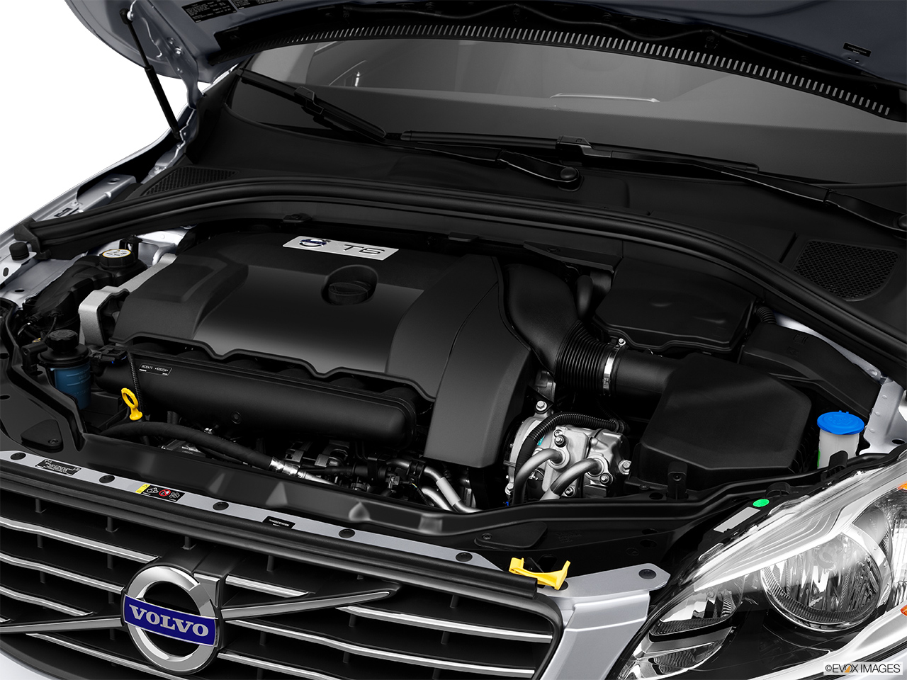 2014 Volvo XC60 T6 AWD Premier Plus Engine.