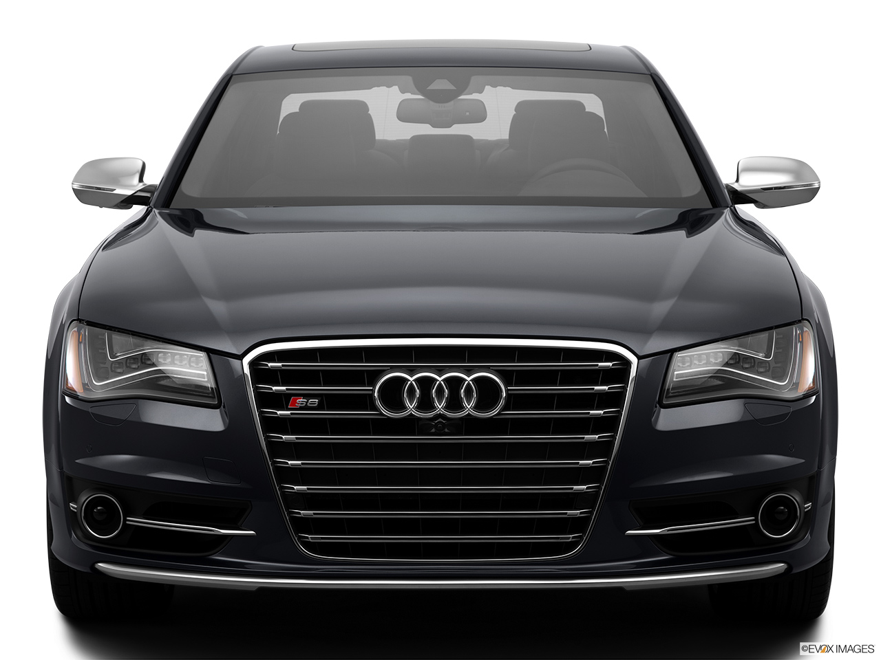 2014 Audi S8 4.0 TFSI Low/wide front.