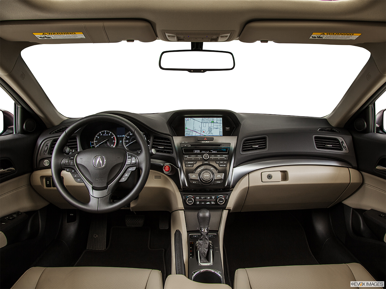 2014 Acura ILX Hybrid Base Centered wide dash shot