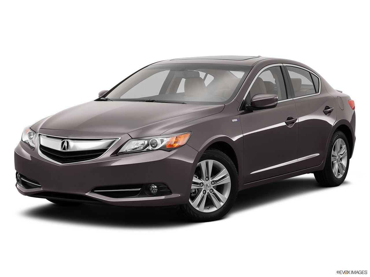 2014 Acura ILX Hybrid Base Front angle medium view.