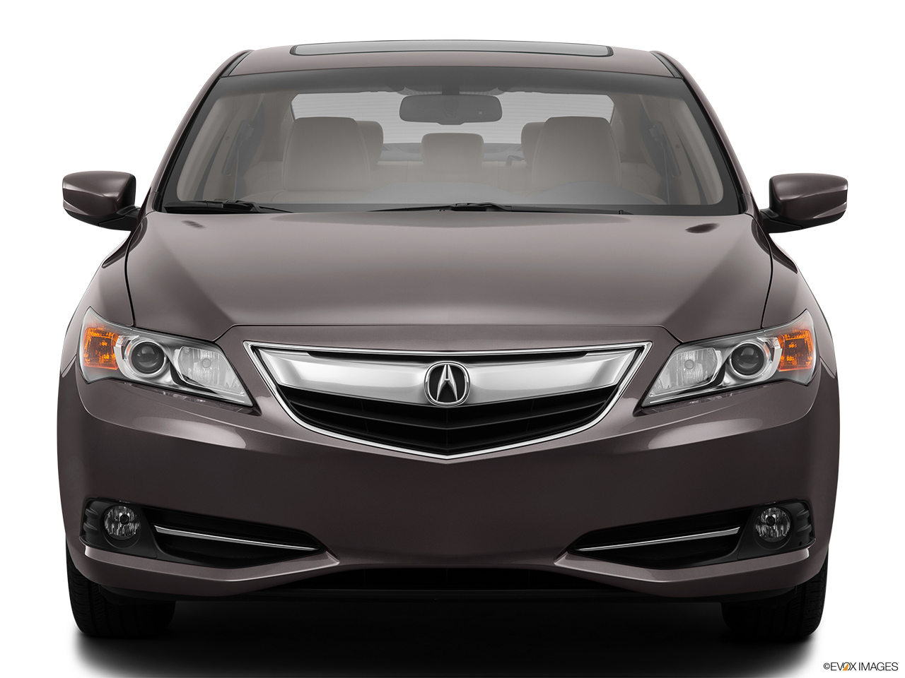 2014 Acura ILX Hybrid Base Low/wide front.