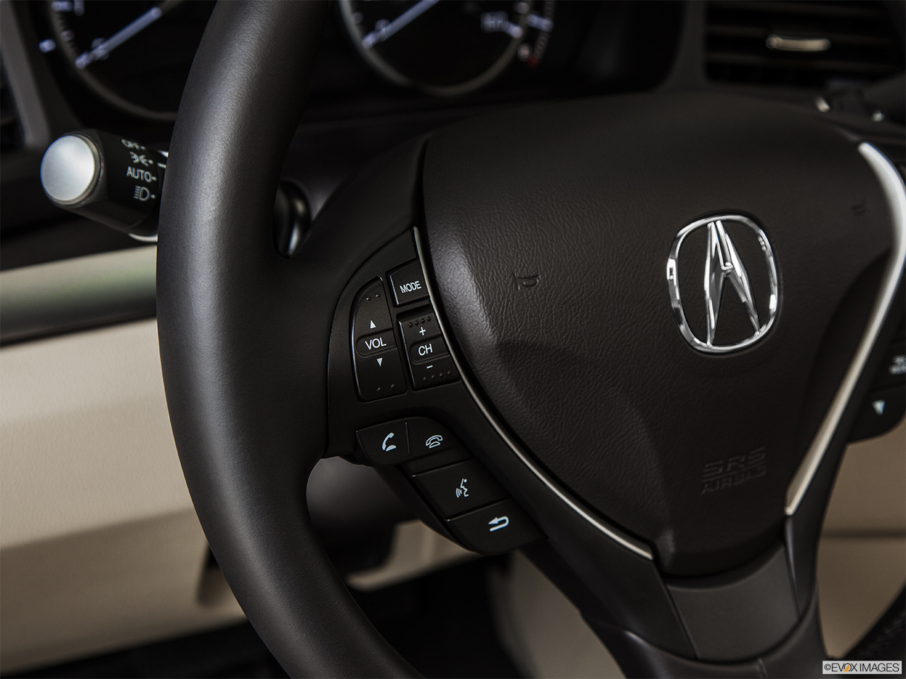 2014 Acura ILX Hybrid Base Steering Wheel Controls (Left Side)