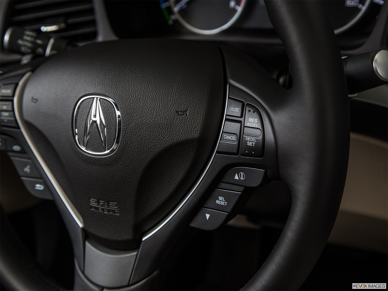 2014 Acura ILX Hybrid Base Steering Wheel Controls (Right Side)