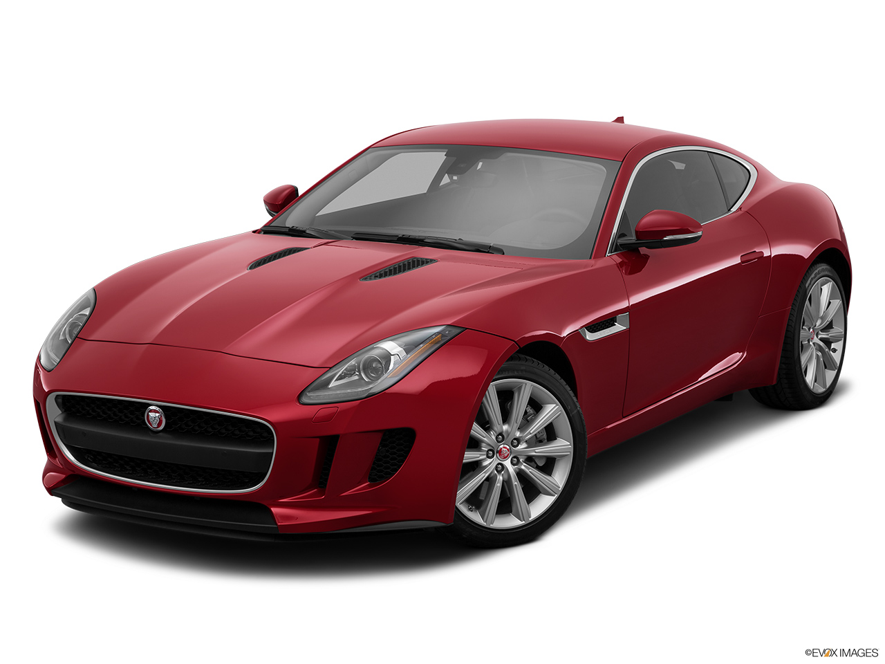2015 Jaguar F-Type Coupe Base Front angle view.