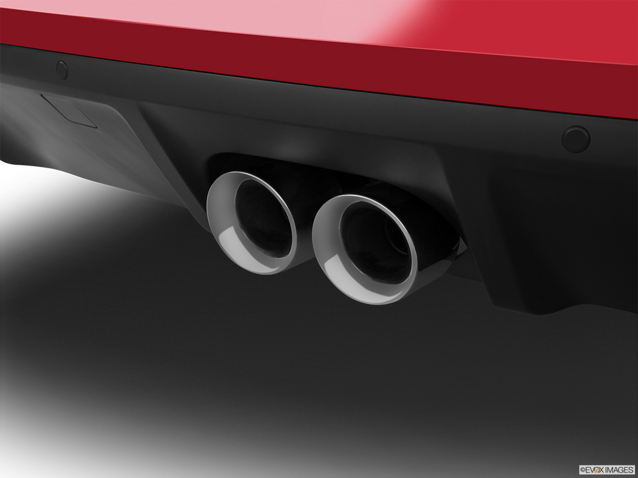 2015 Jaguar F-Type Coupe Base Chrome tip exhaust pipe.