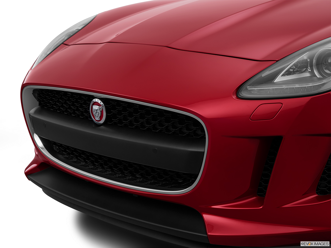 2015 Jaguar F-Type Coupe Base Close up of Grill.