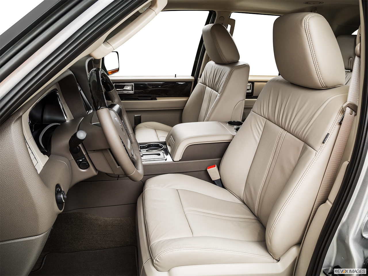 2015 Lincoln Navigator Base Front seats from Drivers Side.