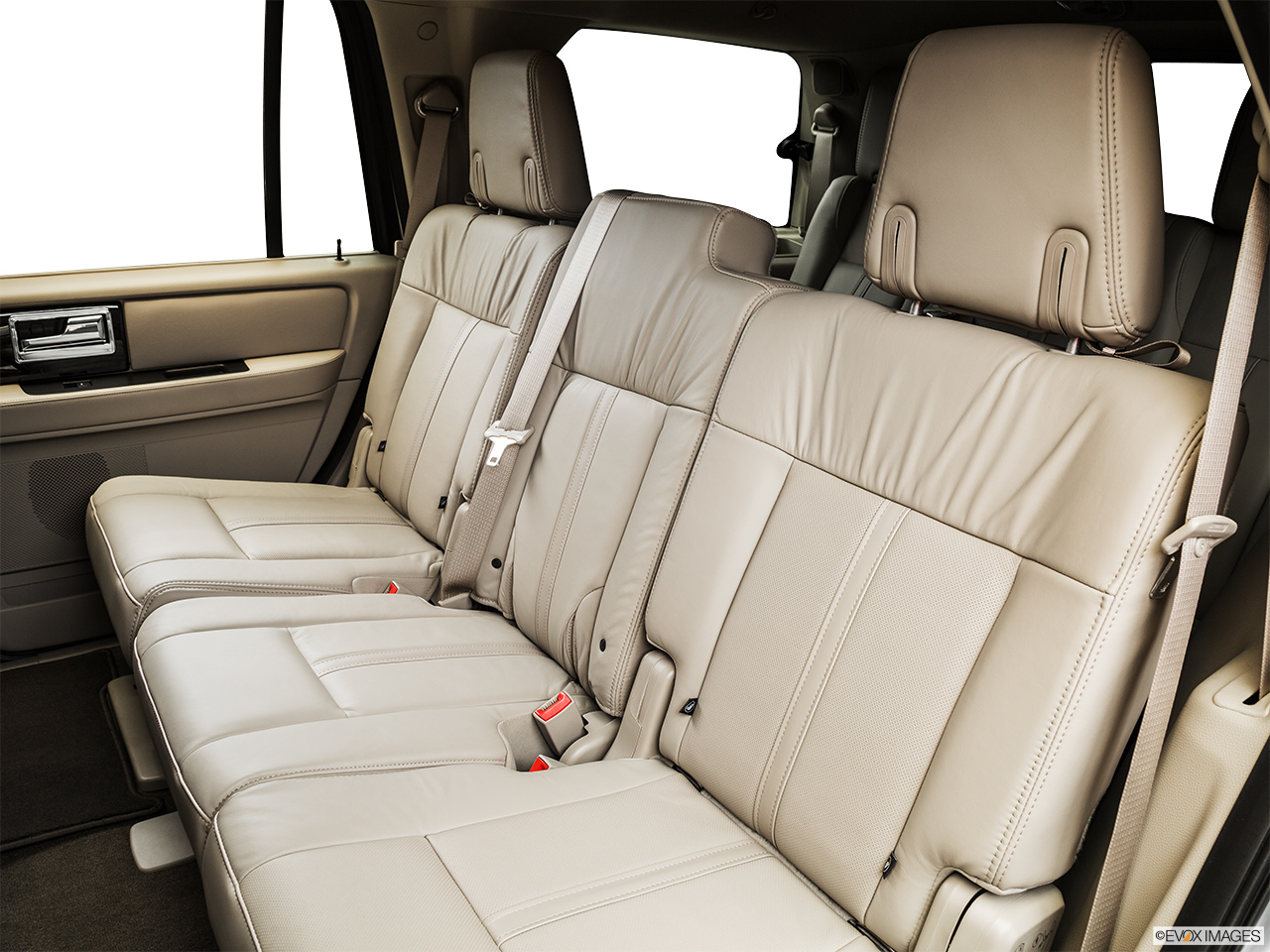 2015 Lincoln Navigator Base Rear seats from Drivers Side.