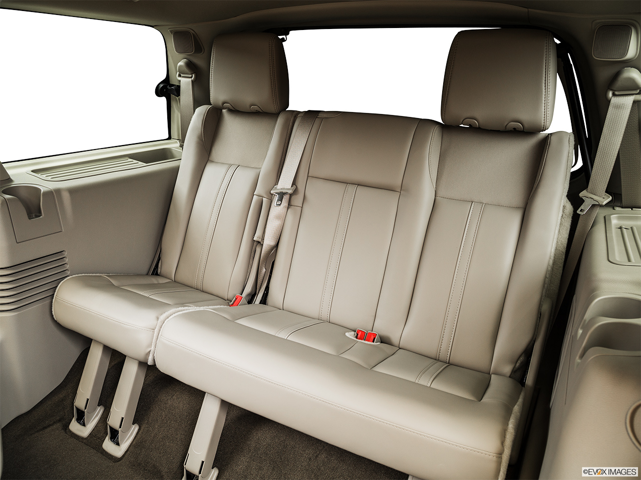 2015 Lincoln Navigator Base 3rd row seat from Driver Side.