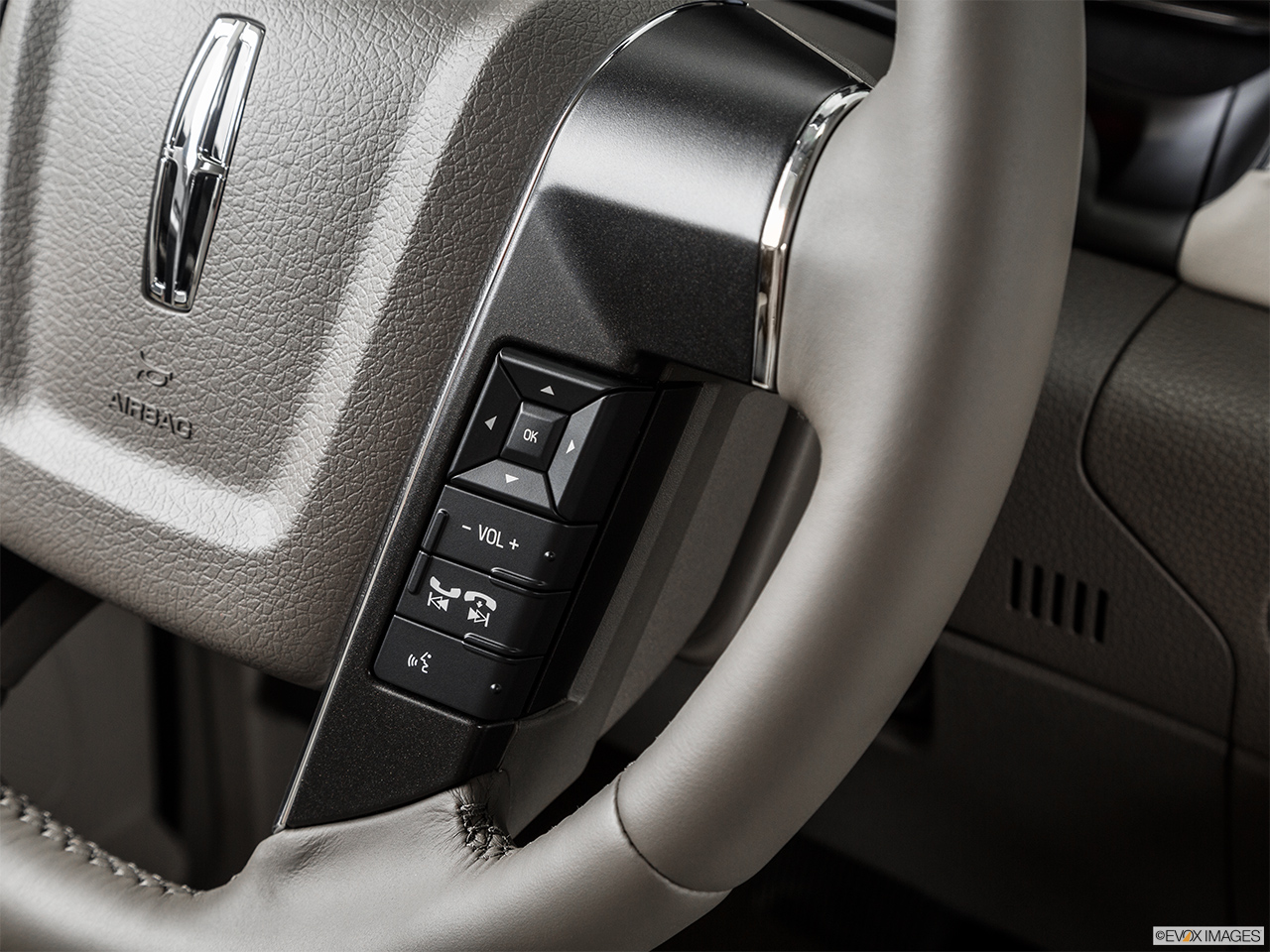 2015 Lincoln Navigator Base Steering Wheel Controls (Right Side)