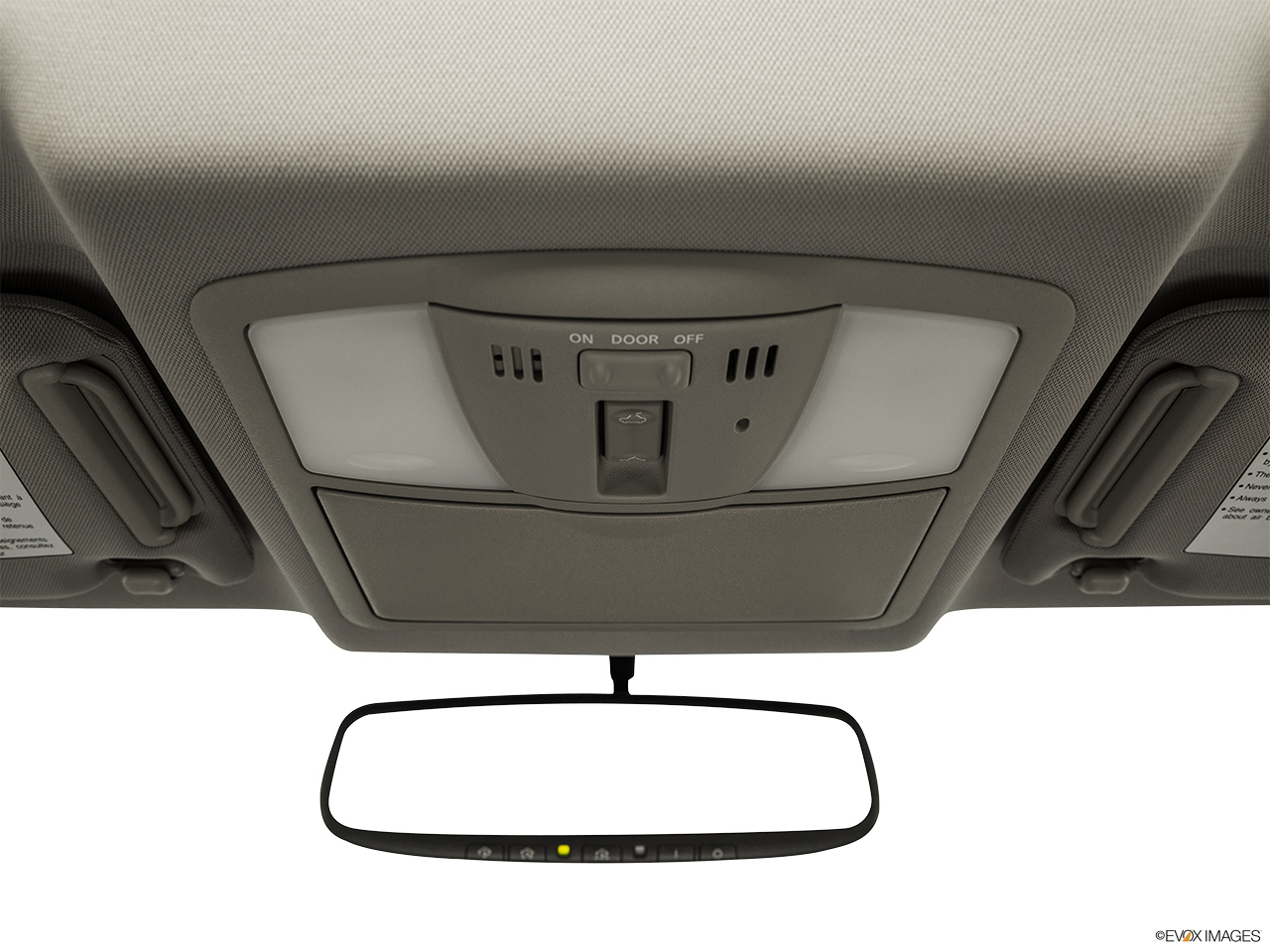2015 Infiniti Q40 Base Courtesy lamps/ceiling controls.